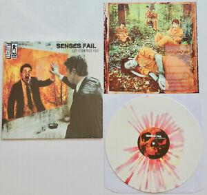SENSES FAIL Let It Enfold You *SEALED* SPLATTER VINYL LP (2016) bayside thursday