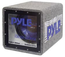New Pyle PLQB8 8'' 400 Watt Bandpass Enclosure System Sub Car Audio