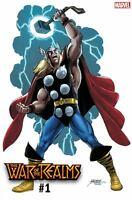 War of the Realms #1 Perez Variant Marvel comic 1st Print 2019 unread NM