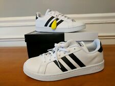 Adidas Grand Court Cloudfoam White Sneakers NIB Men's US Size 10