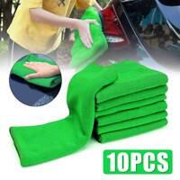10X Auto Car Microfibre Cleaning Auto Car Detailing Soft Cloth Wash Towel Duster