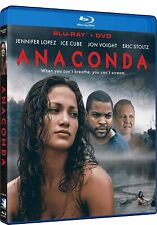 Anaconda [Blu-ray] Jennifer Lopez Pg-13 Blu-ray Action & Adventure Discs 2 New