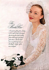 Bridal Bridesmaid Fashions WEDDING GOWNS Bride 1948 Magazine Article 5 PAGES