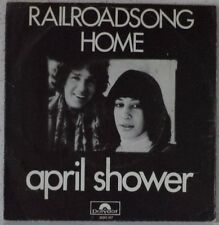 "APRIL SHOWER Railroadsong (LISTEN) RARE 7"" 1971 pop-folk HOLLAND PS"