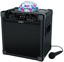 ION Party Rocker Plus Lighted BT Speaker with Battery [New Speaker] Built-In S