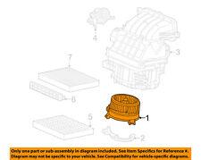 HONDA OEM 12-13 Civic-Blower Motor 80030TR0305