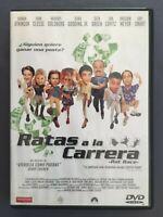 DVD RATAS A LA CARRERA Rowan Atkinson Breckin Meyer Cuba Gooding Jr JERRY ZUCKER