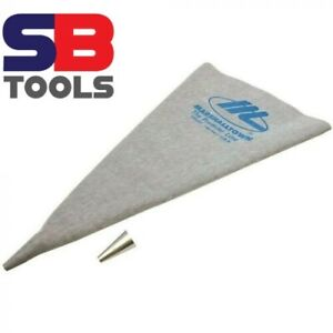 """Marshalltown Grout Bag with Metal Tip 12"""" x 24"""" - MGB692 VINYL CEMENT BAG UK ST"""