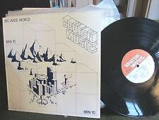 BRUTON MUSIC big wide world BRN10 LIBRARY LP '83 funk breaks brian bennet uk oop