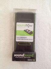 Soundflow Soundboard Wireless Portable Speaker SP20BKGR Black & Lime Green NEW!