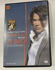 DVD - David Fray / Dkp - Swing, Sing And Think DVD #G1993021