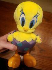 "Tip N Fall Tweety Bird Hallmark Looney Tunes Easter Egg 10"" Motion Christmas"