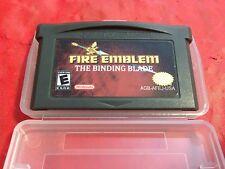 FIRE EMBLEM The Binding Blade Nintendo Gameboy Advance English Sword Of Seals