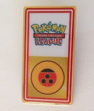 Yellow Red Pokemon League Pin Badge Authentic Quality (N8)
