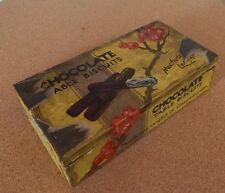 Vintage 1920's Macfarlane Lang & Co Paper wrapped tin 17cm x 9cm