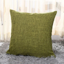 "17"" X 17"" Beautiful Linen Cushion Covers 13 Colours with Cushion Pillow Cotton"
