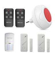 Wireless Indoor Sound&Strobe Flash Siren Alarm System for Home Burglar Security