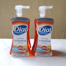 2 pack Dial Complete Soap Foaming Liquid Hand Wash 7.5 Oz Citrus Sunburst