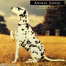 """7"""" Animal Logic there's a spy (in the House of Love) Deborah Holland Virgin 1989"""