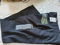 NWT Lee Men's Performance Series Extreme Comfort Straight Fit Pant Black 30WX32L