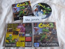Croc 2 PS1 (COMPLETE) Sony PlayStation platform black label rare
