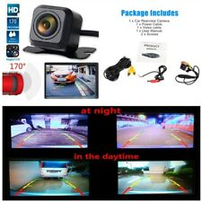 Adjustable HD Car Parking Rear View Reverse Back up Camera Kit Night Vision IP68