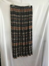 Requirements Size Small Long Broomstick Skirt Browns & Black