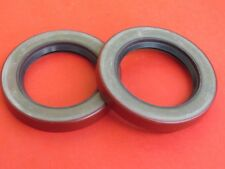 1928-38 Ford NEW top quality rear brake drum wheel grease seals (pair) B-1175