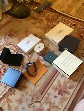 Multiple Brands 8 Boxes And One Small Louis Vuitton Bag