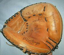 "Vintage Joe Mauer Rawlings RCM30T Lite Toe Catchers Mitt Glove RH Thrower 12.5"""