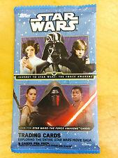 JOURNEY TO STAR WARS: THE FORCE AWAKENS Trading Cards (1 Pack)!!