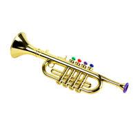 Musikalische Trompete mit 3 farbigen Tasten für Kinder Kinder frühes