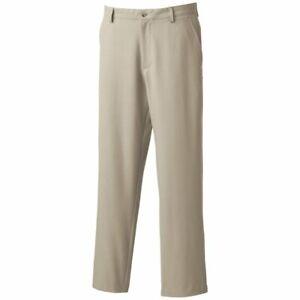 FootJoy Men's Performance Regular Fit Spandex Beige Golf Pants Size 34 x 34