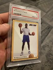 Shaquille O'neal PSA 5 EX Magic 1993 Classic SHAQ #104 INVEST for INFLATION NR
