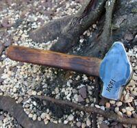 "EXC 2.1lb Forged ""URI HOFI"" Blacksmith Cross Pein Knife HAMMER Vintage Anvil"