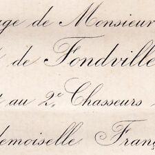 Celestin Chabert De Fondville 1876 Françoise Gaudechart