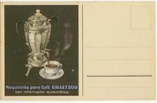 c1915 Spanish coffee percolator ad pc - Maquinilla para Cafe GRAETZOR