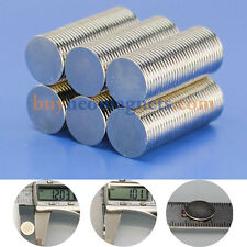 100pcs N42 12mm x 1mm Super Strong Disc Magnet Rare Earth Neodymium Disk Magnets