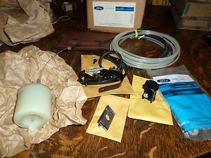 1966 Lincoln nos vacuum luggage compartment lock kit