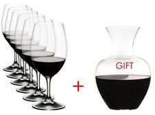 Riedel Ouverture Magnum 6 Piece Wine Glass Set w/ Free Apple NY Decanter 5408/35