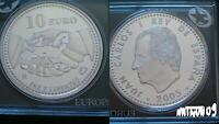 SPAIN / 2005 - 10 EURO / Peace and Freedom / SILVER COIN BU