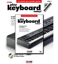 NEW Proline Play Keyboard Today Level 1 Book And CD