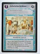 He Can Go About His Business 2001 Reflections 3 Ltd Decipher Star Wars CCG NM/SP