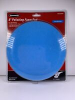 """Warrior 8"""" Polishing Foam Pad Attachment # 61531 For 7"""" Polishers Hook And Loop"""