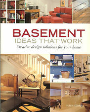 Basement Ideas That Work - Creative Design Solutions for Your Home,  PB
