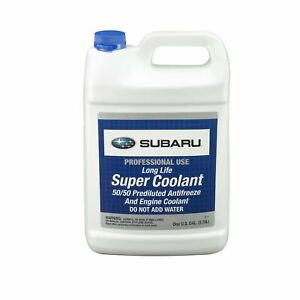 Subaru 50/50 Prediluted Antifreeze and Engine 1 Gallon Colant Multiple Fitments