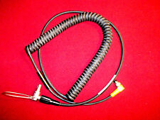 Trimble GPS Laser Technology Coiled Data Cable 4 Pin to 7 Pin Lemo  P/N 32287
