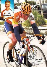 CYCLISME carte  cycliste MATTHE PRONK équipe RABOBANK