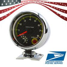 12V Universal Auto Car 3.75'' RPM Tachometer Tacho Gauge With Shift Light USA