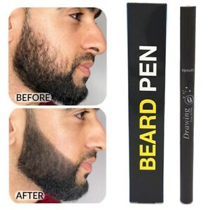 Men Beard Growth Pen Facial Hair Sideburn Mustache Repair Shape Regrowth Pen